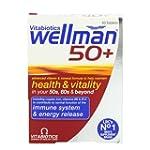 Vitabiotics Wellman 50+ Advanced Vita...
