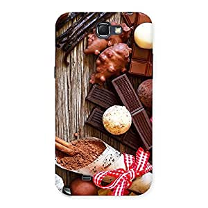 Delighted Chocolate Candies Multicolor Back Case Cover for Galaxy Note 2