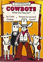 Cowboys What Do They Do?