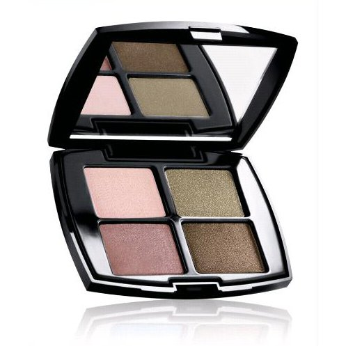 Lancome Color Design Sensational Effects .12 oz / 3.6 g Promo Size in Pink Pearls, Designer, Exhibition & Lava Eye Shadow Quad