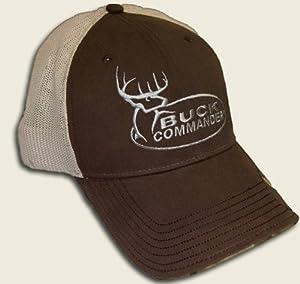 Amazon.com : Buck Commander ~ Brown Mesh ~ Hunting Hat Cap : Sports