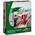 BRIO BRI-33209 Rail and Road Travel Set