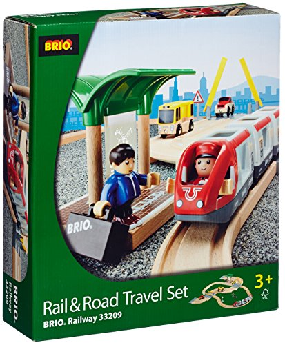 BRIO Rail & Road Travel Set - 1