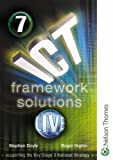 ICT Framework Solutions Live: Student CD-ROM Year 7 (0748784233) by Doyle, Stephen