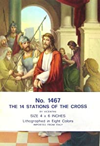 The 14 Stations of the Cross Poster Set (14 - 4 x 6 cards)
