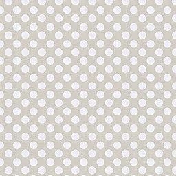 Carousel Designs French Gray Dot Cradle Sheet