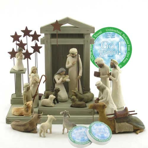 Willow Tree 19 Piece Nativity Set By Susan Lordi