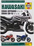 Kawasaki EX500 (GPZ500S) and ER500 (ER-5) Service and Repair Manual: 1987 to 2005 (Haynes Service and Repair Manuals) Alan Ahlstrand