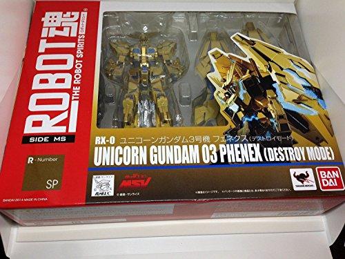 [Gundam Front Tokyo Limited Quantity Product] Robot Spirits [Side Ms] Unicorn Gundam Unit 3 Fenekusu (Destroy Mode)