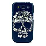 Flower Lace Skull Pattern Hard Case for Samsung Galaxy S3 I9300