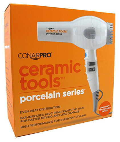 Conair Pro Ceramic Tools Porcelain Series 2000w Far-Infrared Dryer (Turbo Pro Series compare prices)
