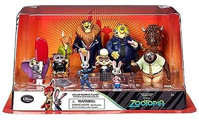 Disney Zootopia Exclusive Deluxe 10 Figure Character Play Set from Disney