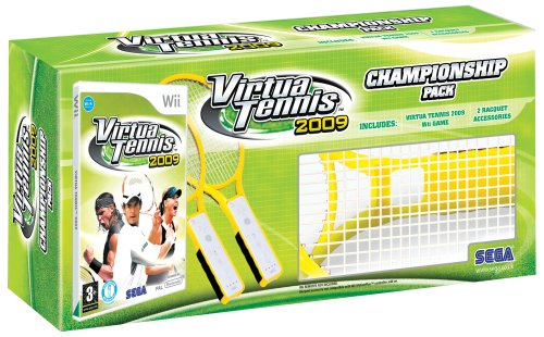Virtua Tennis 2009 - Championship Pack (Wii)