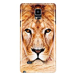 a AND b Designer Printed Mobile Back Cover / Back Case For Samsung Galaxy Note 4 (SG_N4_3D_3312)