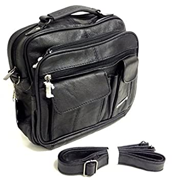 Black Organiser Shoulder Bag 86