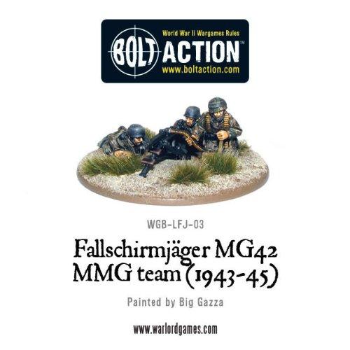 1943-45 Fallschirmjager Mmg Miniatures