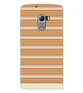 PrintDhaba Tribal Pattern D-1738 Back Case Cover for LENOVO VIBE X3 c78 (Multi-Coloured)
