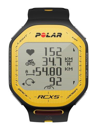 Cheap Polar RCX5 TDF GPS Heart Rate Monitor (Yellow/Black) (B007VD340M)