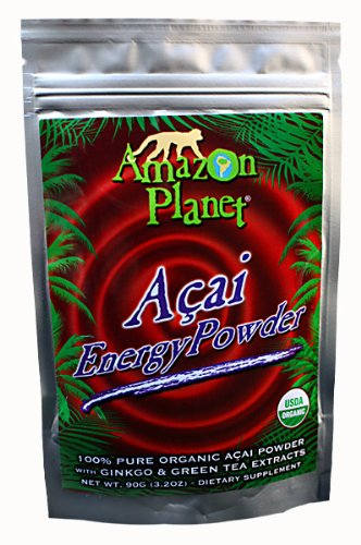 AMAZON PLANET® Açai EnergyPowder, 90g, 30 servings