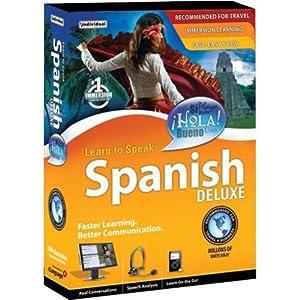 Learn to Speak Spanish Deluxe