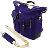 Lencca Universal Hybrid 3 in 1Design Carrying / Tote / Messenger / Crossbody / Backpack / Shoulder Bag for Apple Macbook Pro series 15.4 / 13.3 inch Mac OS X Laptop (Royal Blue)