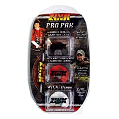 Zink Calls PRO PAK Triple Reed Signature Series Turkey Diaphragm Call Combo with DVD by Zink Calls