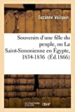 img - for Souvenirs D'Une Fille Du Peuple, Ou La Saint-Simonienne En Egypte, 1834-1836 (Litterature) (French Edition) book / textbook / text book