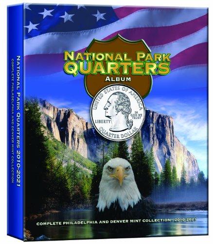 National Park Quarters Album Older Vol III: Complete Philadelphia and Denver Mint Collection 2010-2021