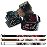 Ed Hardy Eh3204 Love Kills Slowly KidsGirls Leather Belt