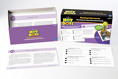 Educational Insights Hot Dots Reading Comprehension Making Inferences - 1
