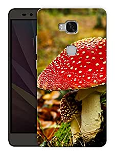 "Humor Gang Magic Mushrooms Printed Designer Mobile Back Cover For ""Huawei Honor 5X"" (3D, Matte, Premium Quality Snap On Case)"