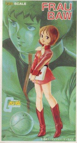 機動戦士ガンダム キャラコレ 1/20スケール プラモデル No.6 フラウ・ボウ