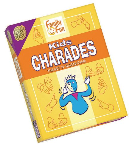 Fantastic Deal! Charades for Kids - An Imaginative Classic Party Game for Young Kids by Outset Media