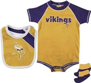 Amazon Minnesota Vikings Gold NEWBORN INFANT Baby