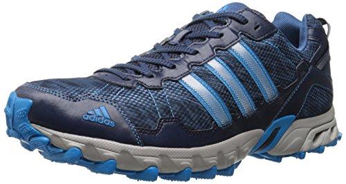 adidas Performance Men's Thrasher 1.1 M Trail Running Shoe, Collegiate Navy/Solar Blue/Vista Blue, 9 M US