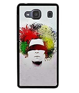 Crazymonk Premium Digital Printed 3D Back Cover For Xiaomi Redmi 2S