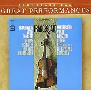 Mendelssohn : Concerto Pour Violon - Tchaikovski : Concerto Pour Violon