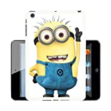Cute Lil Minion 345 case cover for Apple iPad Mini + Screen Protector