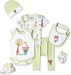 Donuts Baby Girls Pyjama (266177410_Green_03M)
