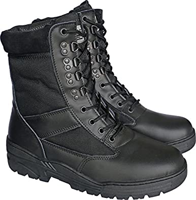 Combat patrol boots tactical cadet military security police amazon