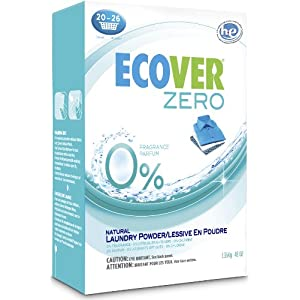 Ecover Zero Natural Laundry Powder Fragrance Free -- 48 oz