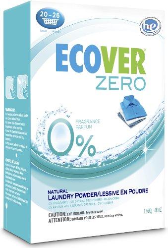 Ecover Laundry Powder,Fragrance Free 1.36 kg