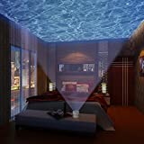 SyndeRay Ocean Wave Night Light Projector and Music Player