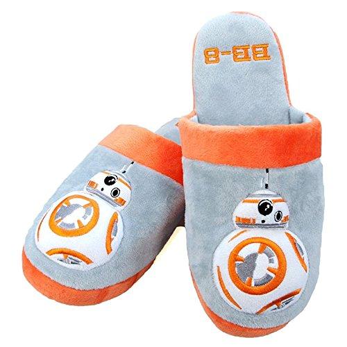 Slip di mulo adulto BB-8 ufficiale Star Wars su Pantofole