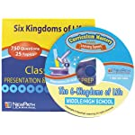 NewPath Learning Six Kingdoms Interactive Whiteboard CD-ROM, Site License, Grade 5-9