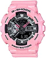 G-Shock GMAS-110MP-4A2 S-Line Series Pink Color Theme Stylish Watch - Pink / One Size
