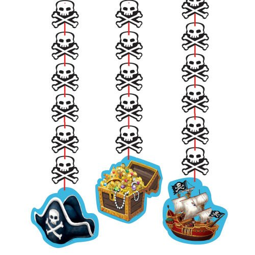 Buried Treasure 36in Dangling Cutouts 3ct