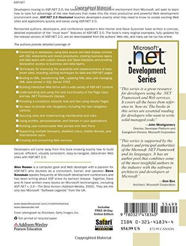 ASP.NET 2.0 Illustrated (Microsoft .Net Development Series)