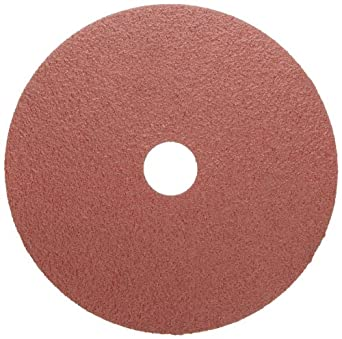 Weiler Tiger Resin Fiber Disc, Aluminum Oxide, Fiber Backing