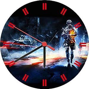 Battlefield 3 Pc Game Cool Wall Clock